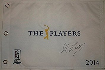 Martin Kaymer Autographed 2014 The Players at TPC Sawgrass Pin Flag - Authenticity - At Sawgrass Shops