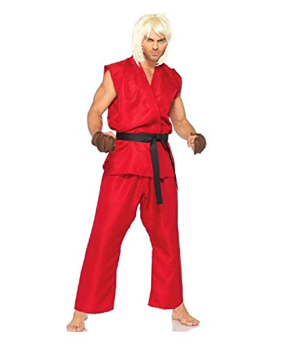 Street Fighter Ken Adult Mens Costume
