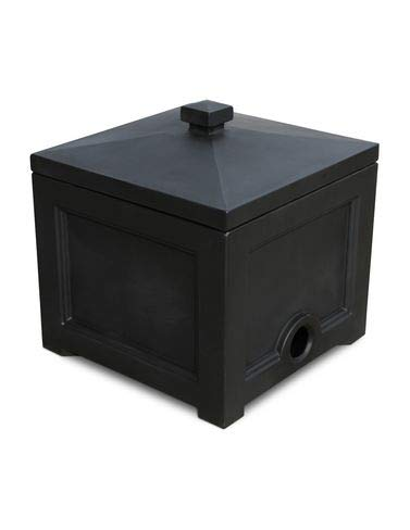(Mayne Inc Fairfield Garden Hose Bin, Black)