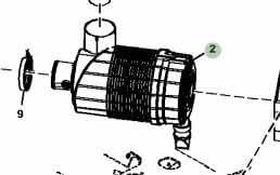 John Deere equipo Original filtro elemento # at203469