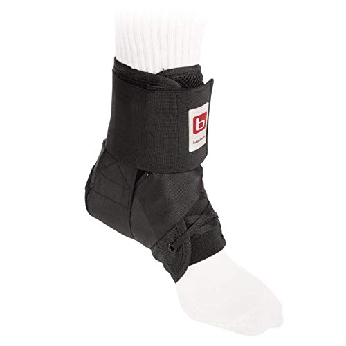 BREG 'SA702009 Wraptor Ankle Stabilizer with Speed Lacers, Black, XL by Breg