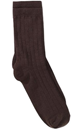 Jefferies Socks & Country Kids Boys Classic Rib Crew Sock fits Toddlers through Teens (Sock Classic Rib Dress)