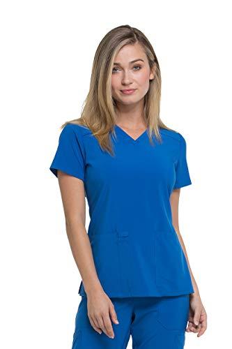 Dickies V-neck Top - Women's EDS Essentials V-Neck Scrub Top