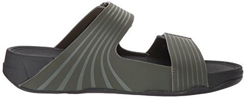 FitFlop Mens Gogh Sport Adjustable Slide Sandal Everglades gOBmK5Qn