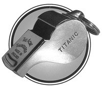 Acme Thunderer Titanic Mates Whistle - Sterling Silver by The Acme (Image #1)