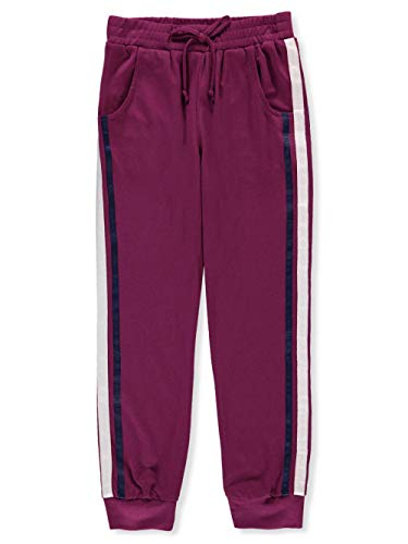 Amy Byer Big Girls Joggers - Plum, 14 ()