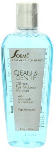 Sorme Cosmetics Natural Oil Free Makeup Remover, 4 Ounce by Sorme Cosmetics