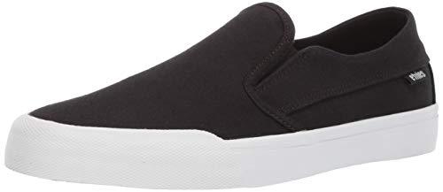- Etnies Men's Langston Skate Shoe, Black/White/Gum, 12 Medium US