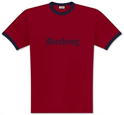 World of Football Ringer T-Shirt Old Haching