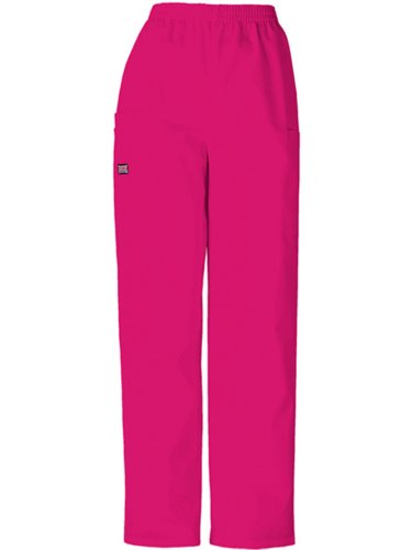 - Cherokee Women's Workwear Scrubs Pull-On Cargo Pant, Raspberry, X-Small
