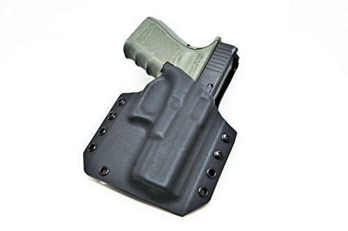 Code 4 Defense Kydex Holster for Glock 19- Outside The Waistband Holster for Glock 19- OWB Glock 19 kydex Holster