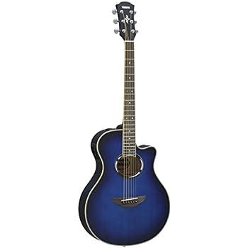 yamaha apx500 oriental blue burst acoustic electric guitar musical instruments. Black Bedroom Furniture Sets. Home Design Ideas