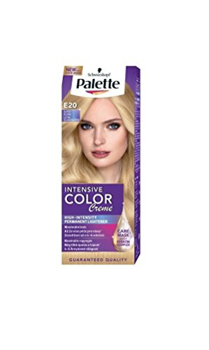 Palette Intensive Color Creme E20 Super Light Blonde Permanent Hair (Hair Color Palette)