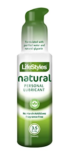 Lifestyle Lubricant - Lifestyles Natural Desire Personal Lubricant, 3.5 Ounce