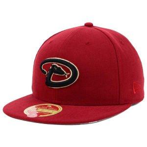 New Era MLB Wool Classic Fitted Cap, Arizona Diamondbacks, 7 1/4