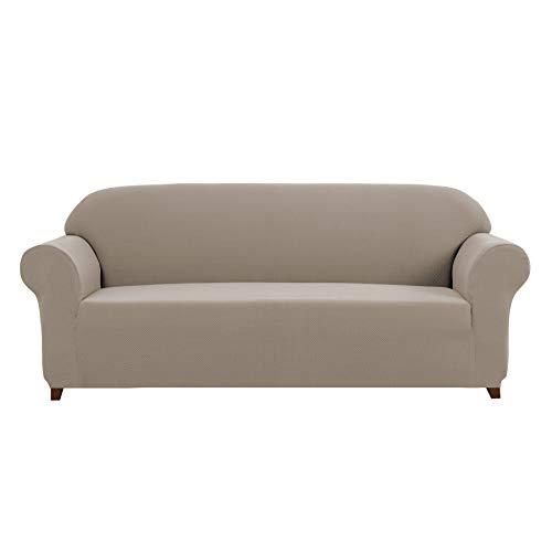 DyFun 1 Piece Knit Spandex Stretch Living Room Sofa Slipcove