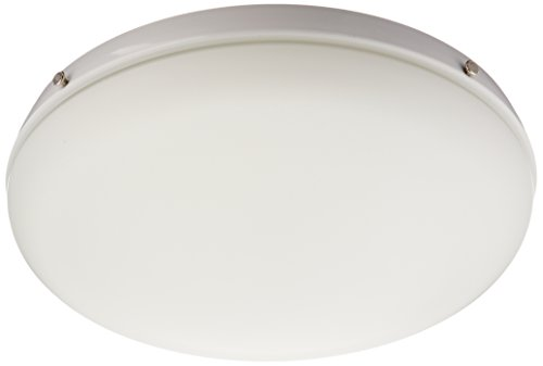 Hunter 99153 Low Profile Light Kit, Candelabra Bulbs, White (Low Profile Light Kit)
