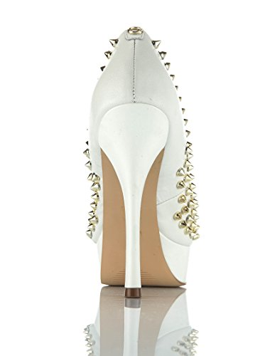 Guess Zapatos peep toe Fl2Amllea07 Blanco EU 39