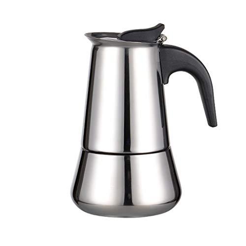 LLCOFFGA Cafetera, Cafetera para Hacer Espresso En El Hogar con Filtro, 3 Minutos para Preparar Café, para Cocina De...