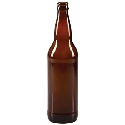 22 oz Beer Bottles- AMBER- Case of 12 from Midwest Homebrewing And Winemaking Supplies