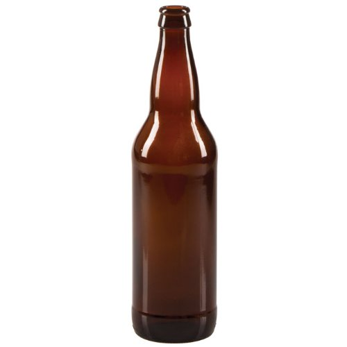 Price comparison product image 22 oz Beer Bottles- AMBER- Case of 12