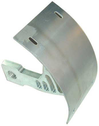 - Yana Shiki YS2549021 Billet Aluminum Swing Arm Mount Tag Bracket for Kawasaki ZX-10 R