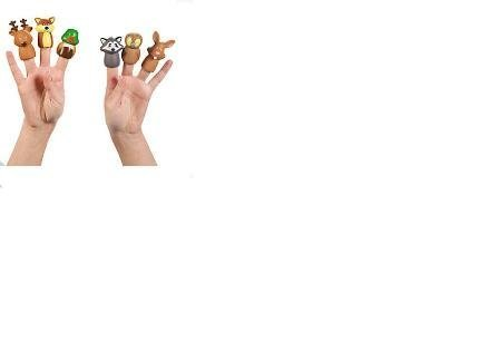 Woodland Character Finger Puppets by  Fun Express