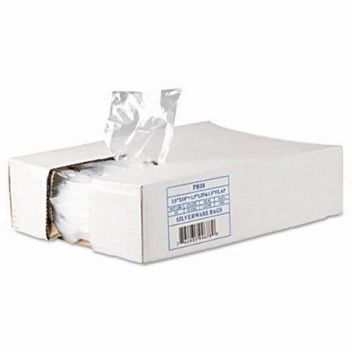 Inteplast PB10 10'' Length x 3-1/2'' Width, Standard Silverware Bag (Case of 2000)