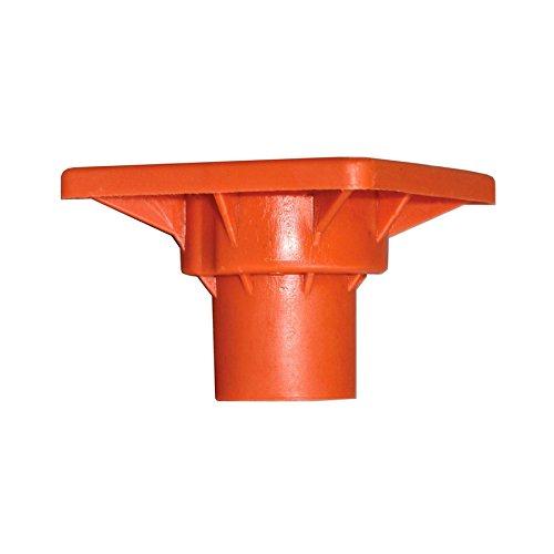 Set of 3 - Blue Hawk #3 to #7 Plastic Rebar Safety Cap