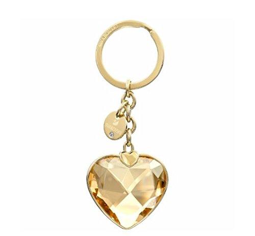 Swarovski Heart Key Ring