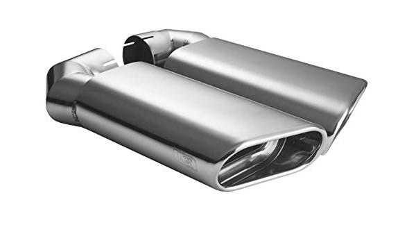 CARTUNER Tubos de escape ovalados Touareg, 145 x 75 mm, de ...