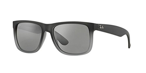Ray-Ban RB4165 852/88 55mm Rectangle Sunglasses