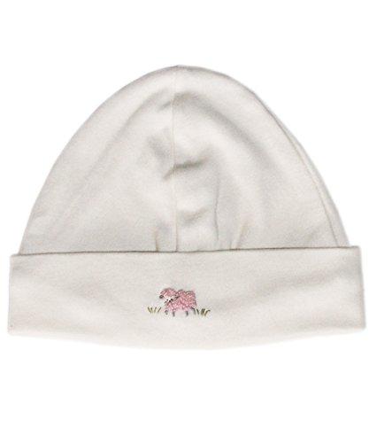 Baby girls lamb beanie hat