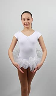 Justaucorps Fille Robe Tulle Danse Ballet Nœud EMZA 10