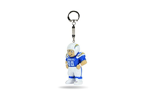 Rico NFL San Diego Chargers Lil Brat Keychain (Key Chargers San Ring Diego)