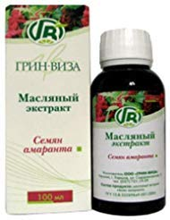The Natural Oil of Amaranth Seeds 100ml