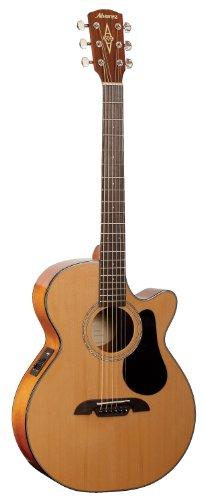 (Alvarez Regent Series RF16CE Folk Acoustic - Electric with cutaway Guitar, Natural / Gloss)