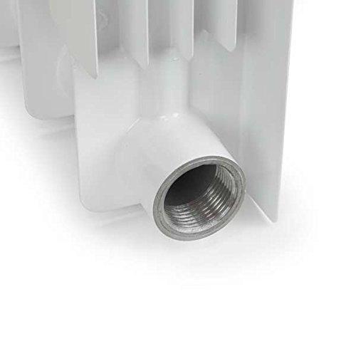 6 Section , Bimetal, Wall-hung ,Aluminum Heating Radiator. by Yanex Industries (Image #3)