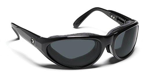 7eye Men's Diablo Nxt Photo Resin Sunglasses,Glossy Black Frame/24:7 NXT Original Lens,one - 24/7 Sunglasses