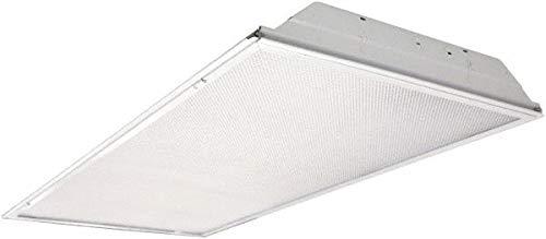Cooper Lighting - 4 Lamp, 32 Watt, 2x4 Ft, Electronic Ballast Fluorescent Lamp Troffer (3 Pack) by Cooper Lighting (Image #1)