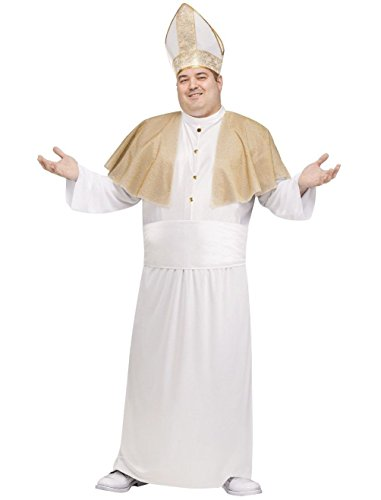Roman Soldier Adult Mens Plus Size Costumes (Pontiff Catholic Priest Pope Bishop of Rome Adult Costume Plus Size)