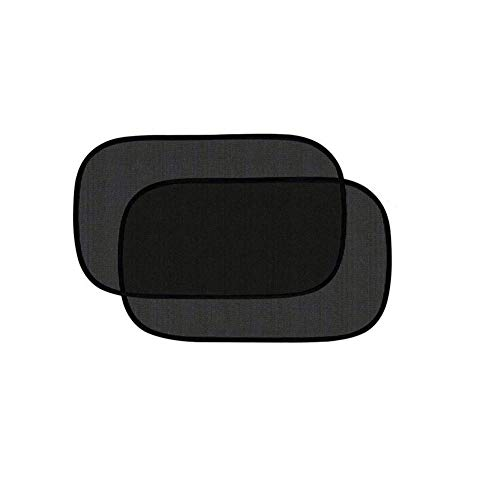 Tovieya Car Sun Shade, Cling Sunshade Windows, Glare and UV Rays Protection for Your Child, Black