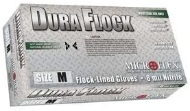 Microflex DFK-608-XXL Dura Flock XX-Large Flock-Lined Gloves