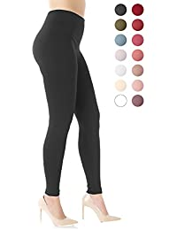 Premium Women's Fleece Lined Leggings - High Waist -...