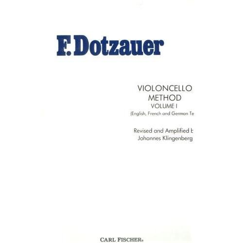 Violoncello Method-Vol. 1 by Carl Fischer