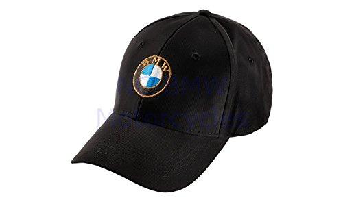BMW Genuine Motorrad Motorcycle Logo Cap Black One Size (Bmw Motorrad Communication System For Schuberth C3)