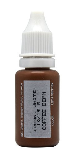 BioTouch Permanent Makeup COFFEE BEAN Cosmetic BIO TOUCH Tattoo Ink 1/4 oz Color