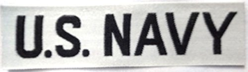 U.S. Navy Branch Tape, Woven, ()