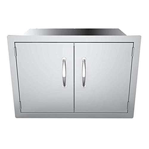 SUNSTONE DSH30 30 Inch Double Door Dry Storage