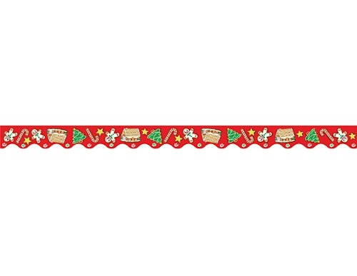 Teacher Created Resources Christmas Border Trim, Multi Color (4157)